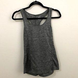 Champion Gray Duo Dry Razorback Workout Shirt S